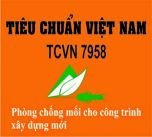 Tiêu chuẩn chống mối TCVN 7958:2008